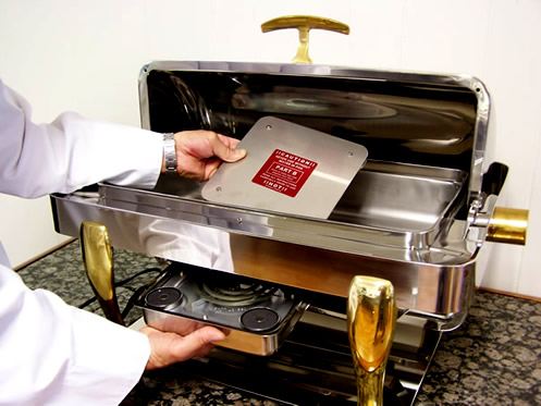 Buffet Burner Is The Most Innovative Universal Electric